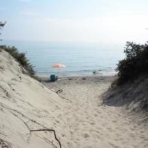 spiaggia frassanito (san giorgio)